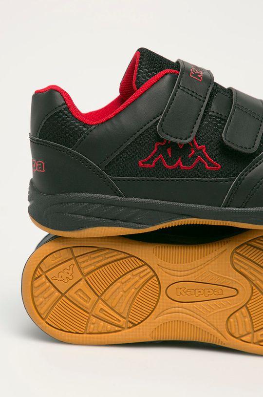 černá Kappa - Dětské boty Kick off