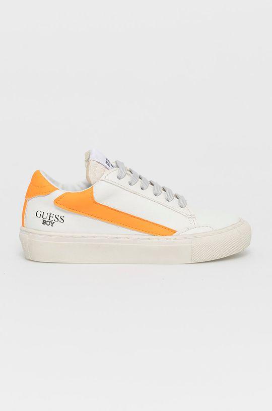 biela Guess - Detské topánky Chlapčenský