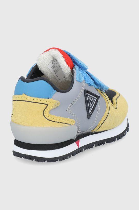 Guess - Pantofi copii  Gamba: Material sintetic, Material textil, Piele intoarsa Interiorul: Material sintetic, Material textil, Piele naturala Talpa: Material sintetic