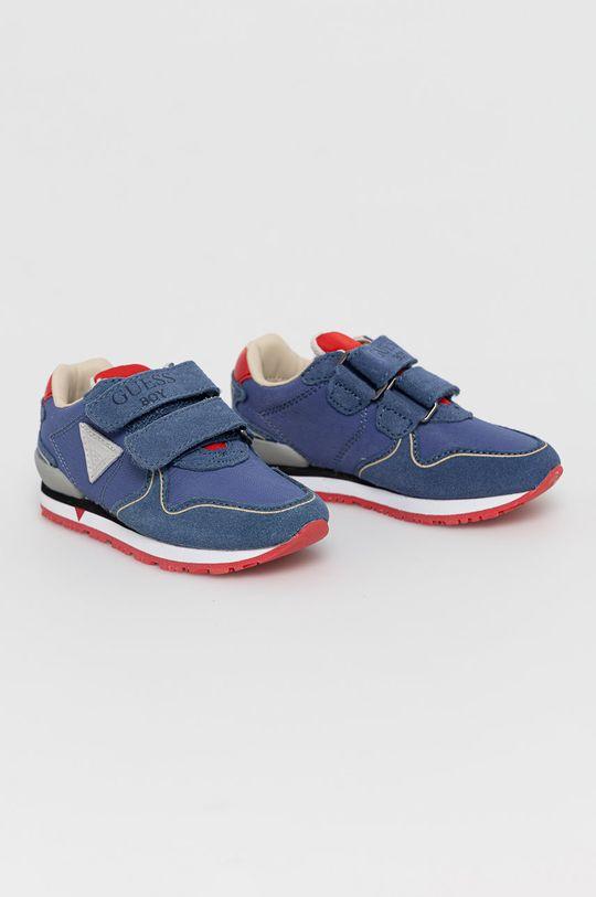 Guess - Buty dziecięce niebieski