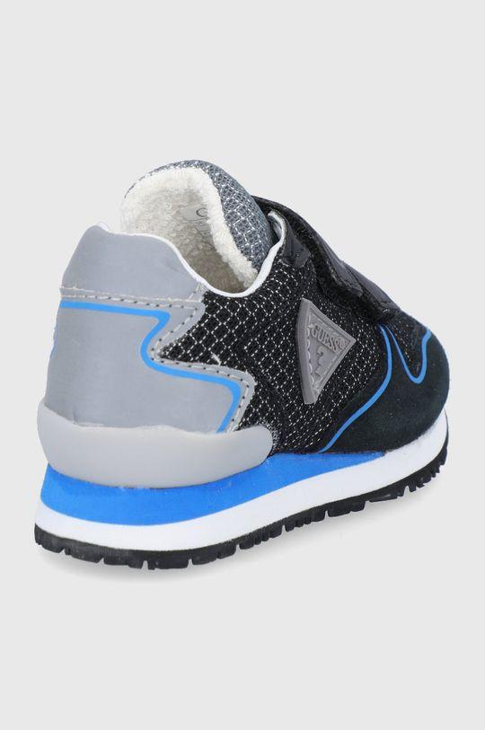 Guess - Detské topánky  Zvršok: Syntetická látka, Textil, Semišová koža Vnútro: Syntetická látka, Textil, Prírodná koža Podrážka: Syntetická látka