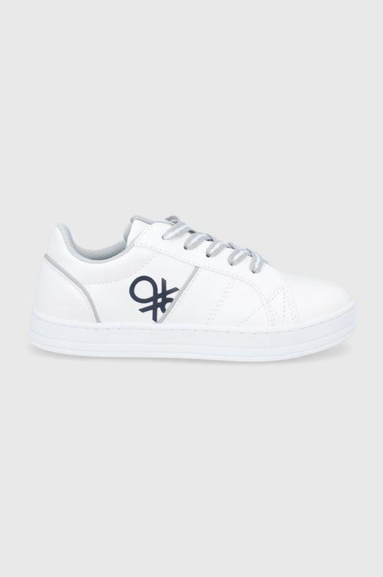 biela United Colors of Benetton - Detské topánky Chlapčenský