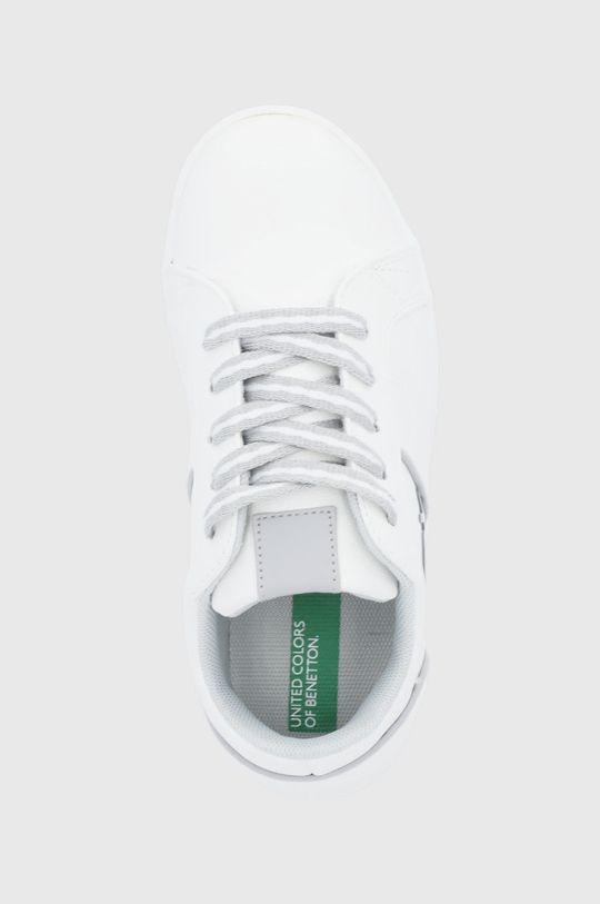 biela United Colors of Benetton - Detské topánky