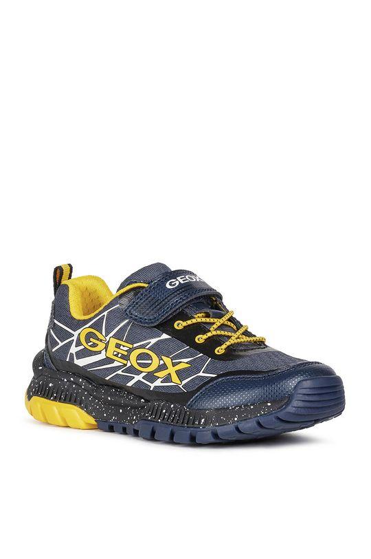 Geox - Detské topánky tmavomodrá