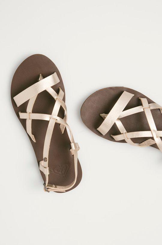 złoty Roxy - Sandały