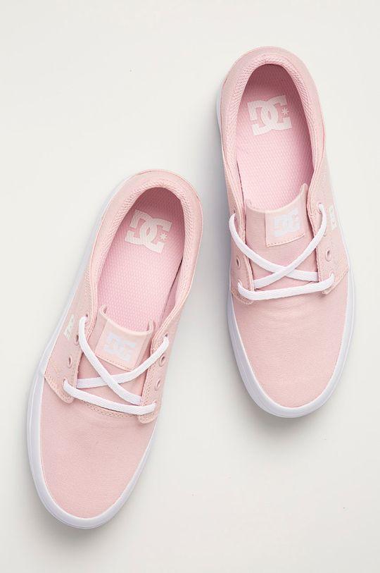 pastelowy różowy Dc - Tenisówki