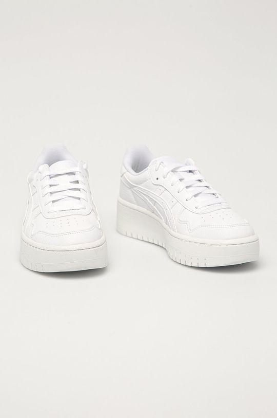Asics - Kožené boty Japan bílá