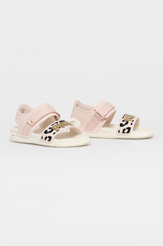 Puma - Sandály Softride růžová
