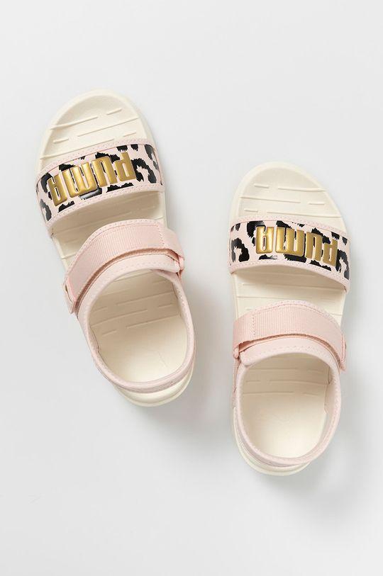 růžová Puma - Sandály Softride