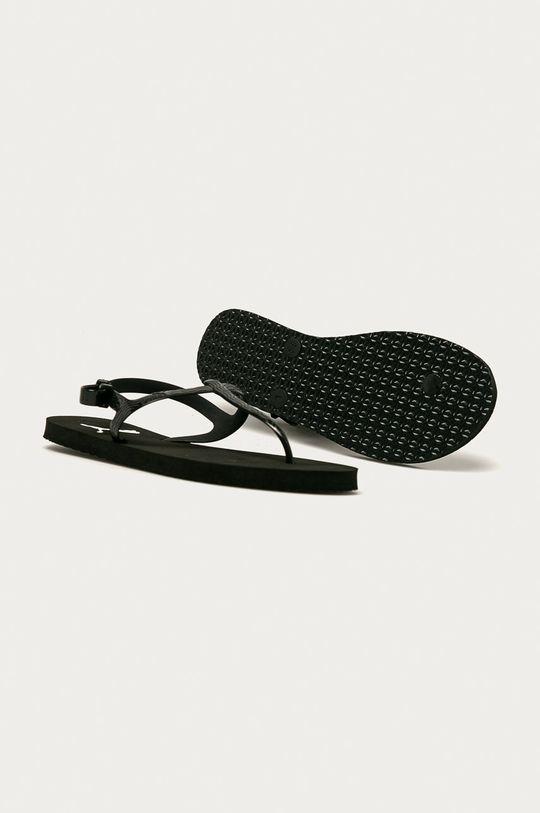 czarny Puma - Sandały Cozy
