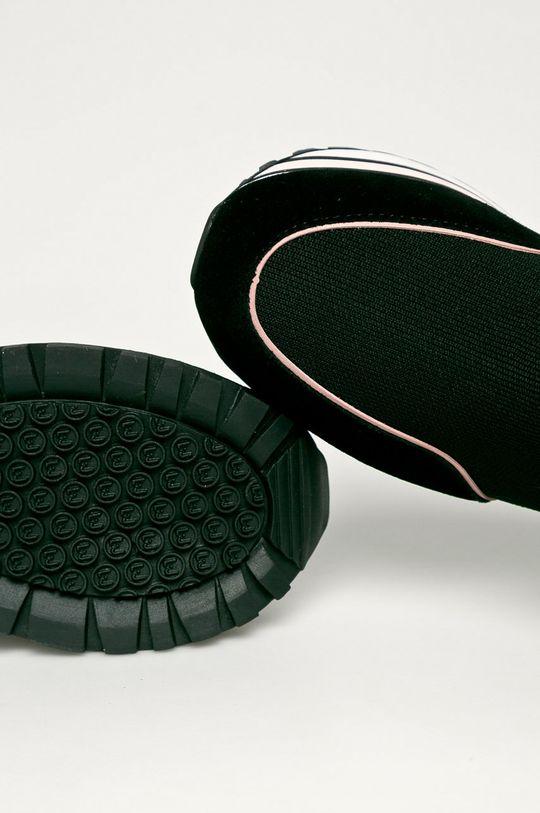 černá Liu Jo - Kožené boty