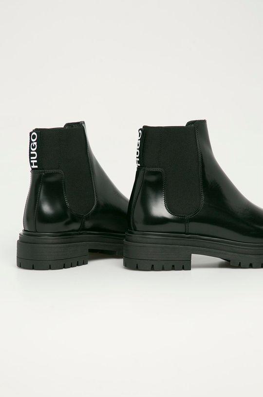 Hugo - Kožené kotníkové boty  Svršek: Textilní materiál, Přírodní kůže Vnitřek: Textilní materiál, Přírodní kůže Podrážka: Umělá hmota