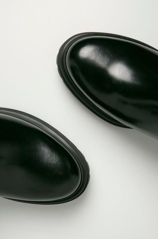 Hugo - Kožené kotníkové boty Dámský
