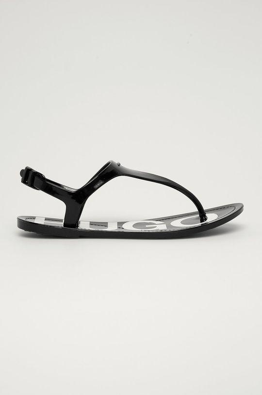 černá Hugo - Sandály Dámský