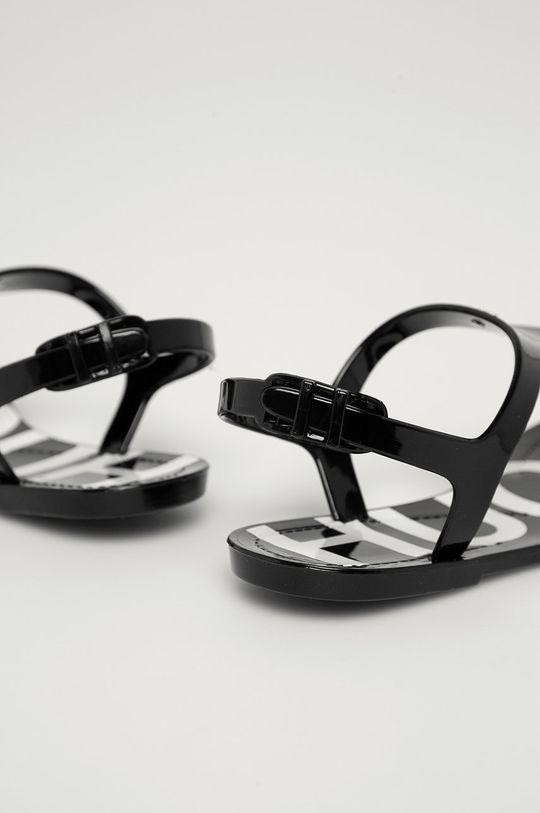 černá Hugo - Sandály
