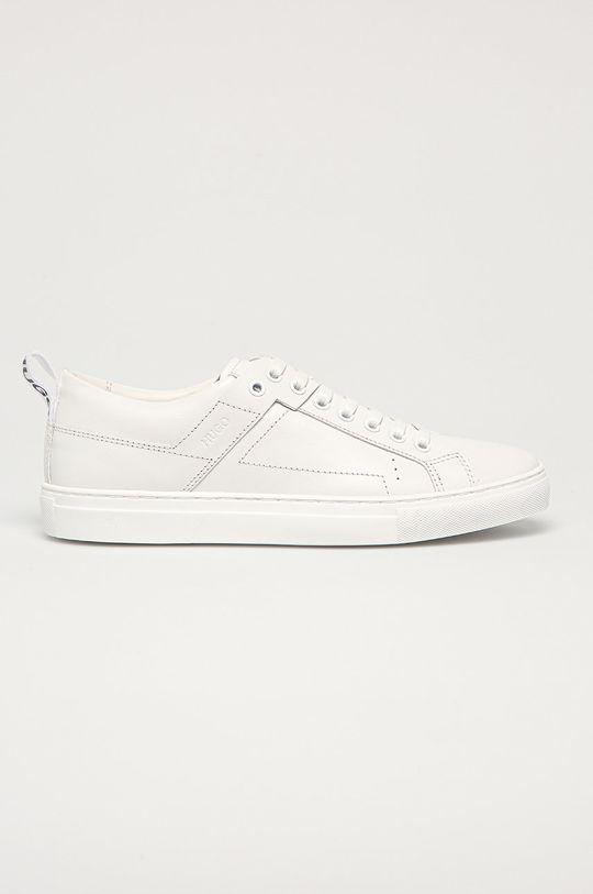 biela Hugo - Kožená obuv Dámsky