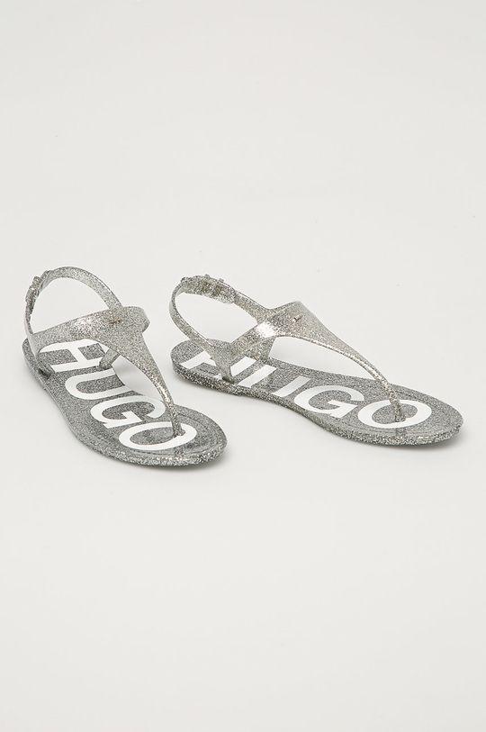 Hugo - Sandály stříbrná