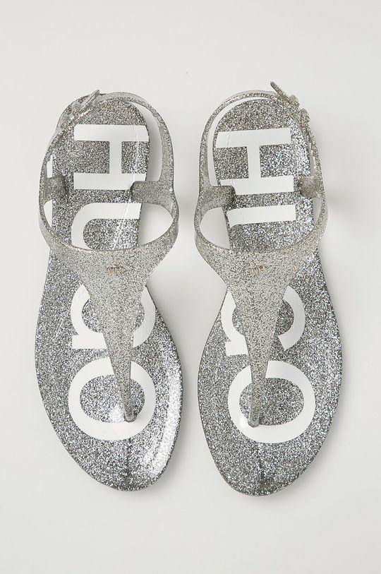 stříbrná Hugo - Sandály
