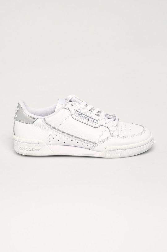 biały adidas Originals - Buty Continental 80 W Damski