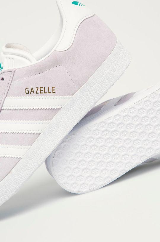 levanduľová adidas Originals - Semišové topánky Gazelle