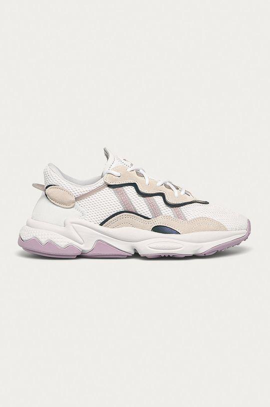 biały adidas Originals - Buty Ozweego Damski