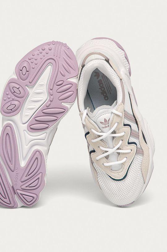 biały adidas Originals - Buty Ozweego