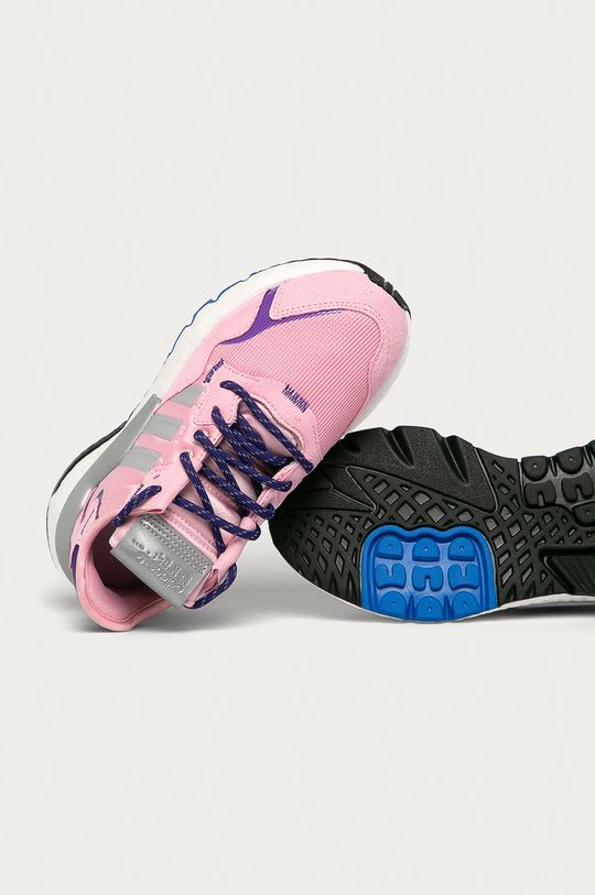 różowy adidas Originals - Buty