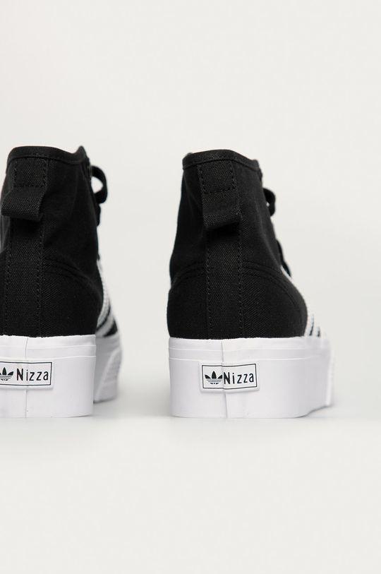 adidas Originals - Trampki Nizza Platform Mid Cholewka: Materiał tekstylny, Wnętrze: Materiał tekstylny, Podeszwa: Materiał syntetyczny