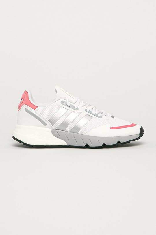 alb adidas Originals - Pantofi ZX 1K Boost De femei