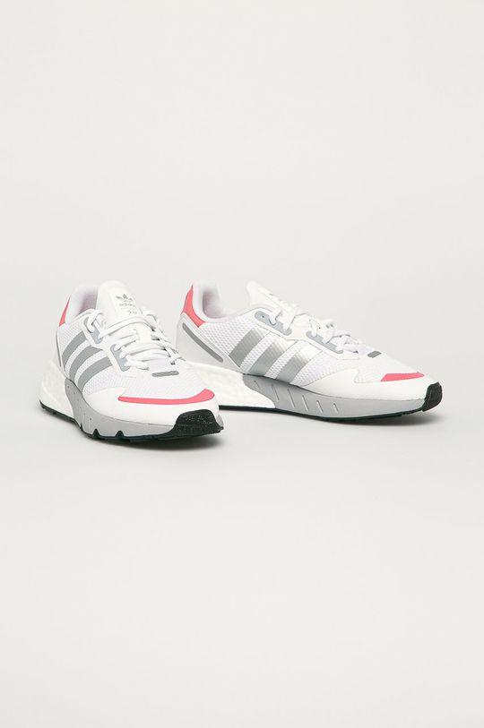 adidas Originals - Pantofi ZX 1K Boost alb