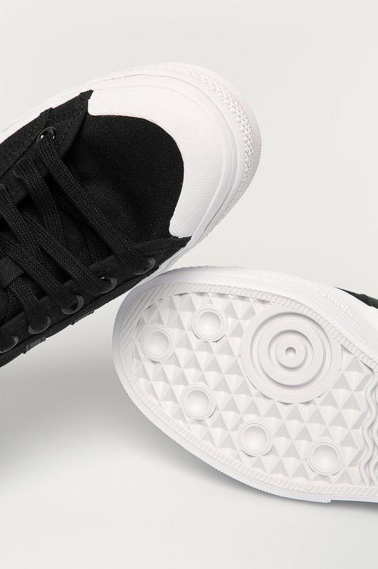 čierna adidas Originals - Tenisky Nizza Platform