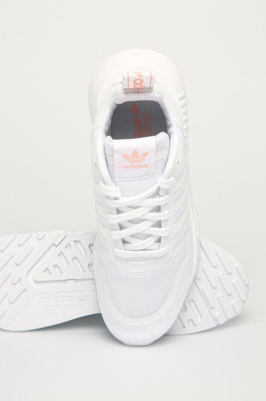 alb adidas Originals - Pantofi Multix W