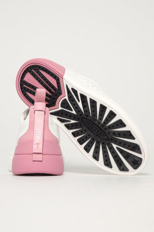 biela Red Valentino - Kožená obuv