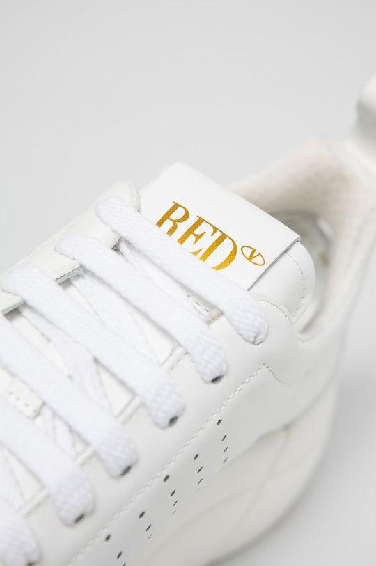 bílá Red Valentino - Kožené boty
