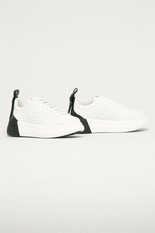 Red Valentino - Kožená obuv biela