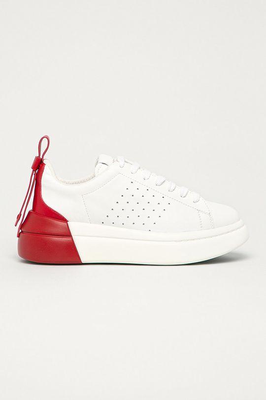 červená Red Valentino - Kožená obuv Dámsky