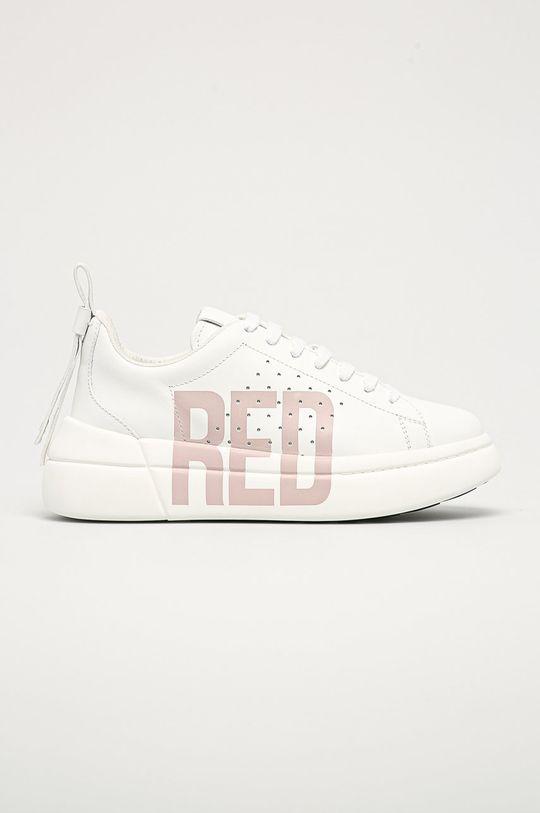 biela Red Valentino - Kožená obuv Dámsky