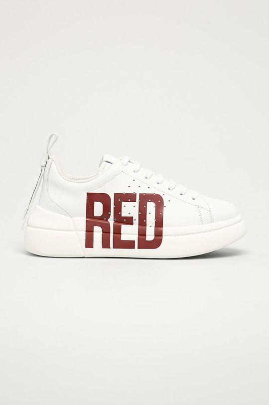 červená Red Valentino - Kožené boty Dámský