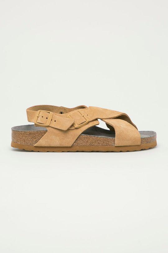 béžová Birkenstock - Semišové sandály Tulum Dámský