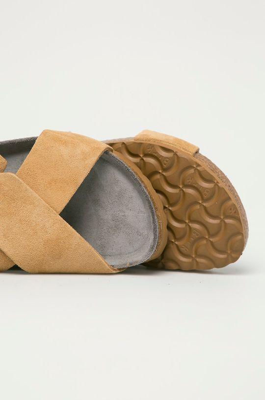 Birkenstock - Semišové sandály Tulum  Svršek: Semišová kůže Vnitřek: Semišová kůže Podrážka: Umělá hmota