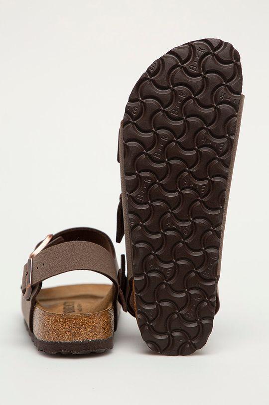 Birkenstock - Kožené sandály Milano <p>  Vnitřek: Přírodní kůže  Podrážka: Umělá hmota</p>