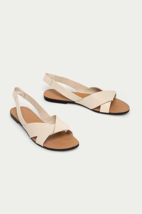 Vagabond - Sandały skórzane Tia cielisty
