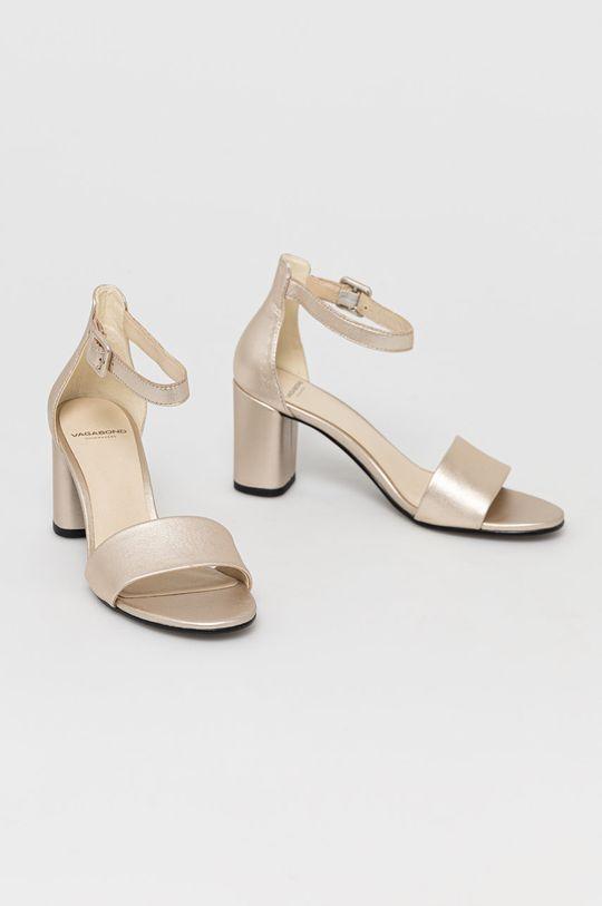 Vagabond - Sandały skórzane Penny złoty