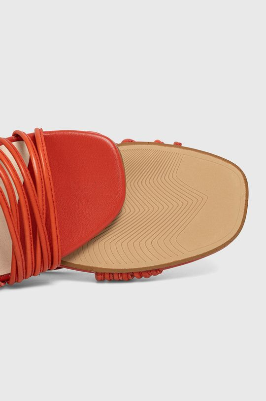 czerwony Vagabond - Sandały skórzane Amanda
