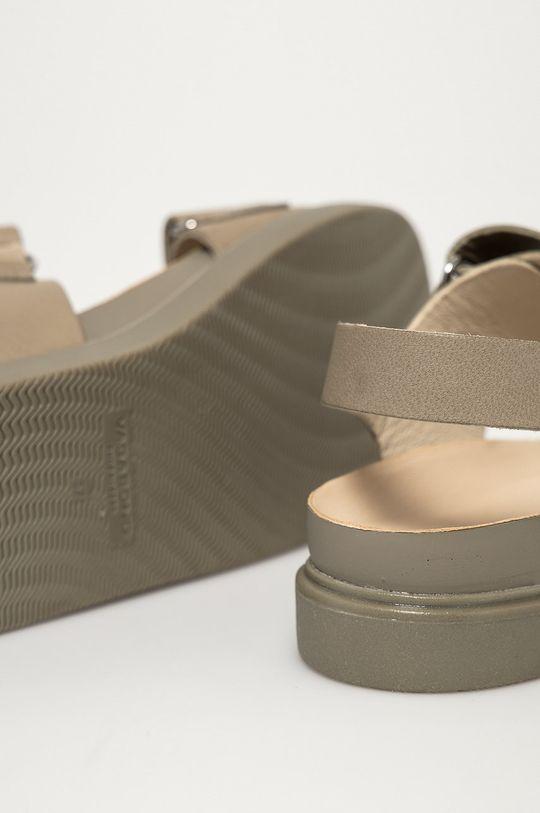 šedá Vagabond - Kožené sandály Erin