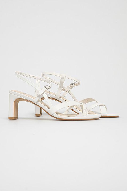 Vagabond - Sandały skórzane LUISA biały