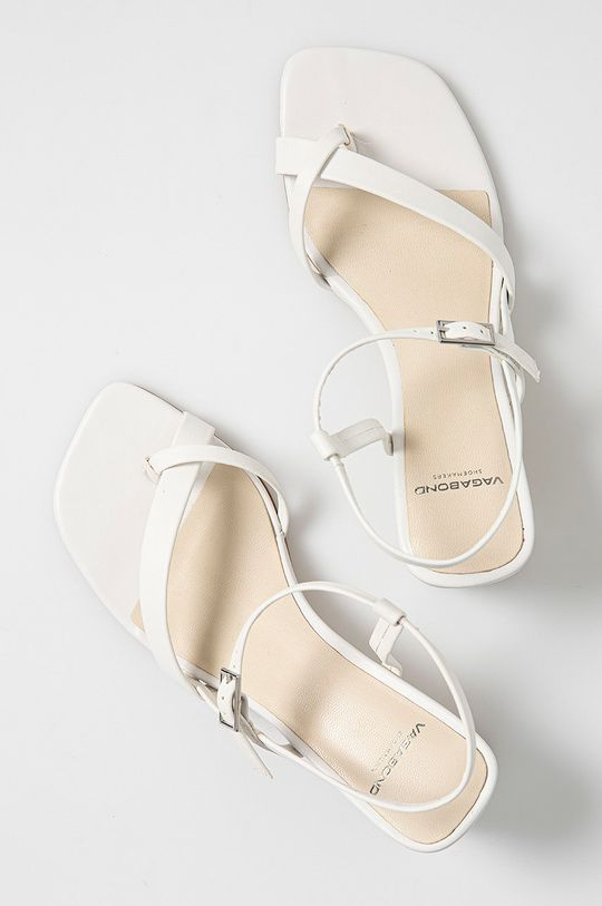 biały Vagabond - Sandały skórzane LUISA
