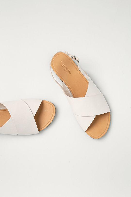 biela Vagabond - Kožené sandále Tia