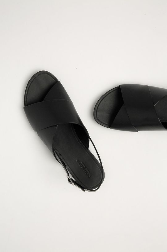 černá Vagabond - Kožené sandály Tia