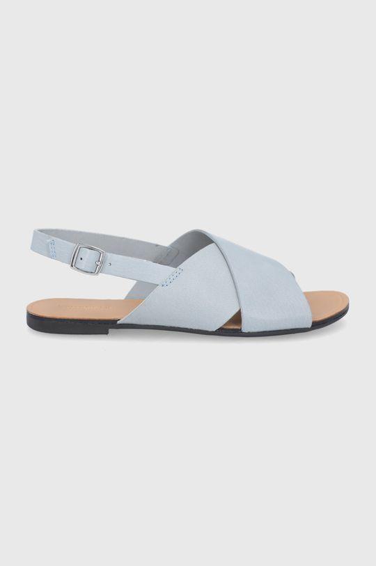 svetlomodrá Vagabond - Kožené sandále Tia Dámsky